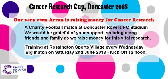 Cancer Research Cup - Doncaster 2018